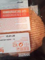 Hamburguesas salmón y merluza - Producto
