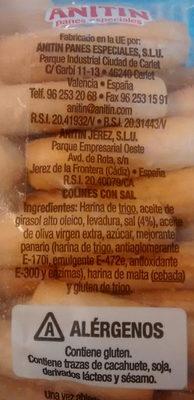 PICOS SALADITOS - Ingredientes