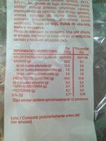 Croissant tiernos y deliciosos - Informations nutritionnelles - es