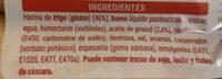 Bizcochos tiernos y esponjosos - Ingredientes - es