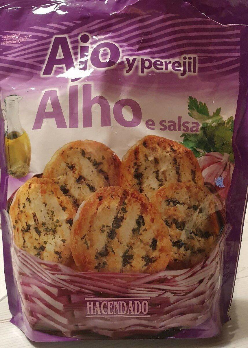 Pan con ajo y perejil - Producto - es