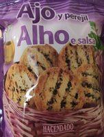 Pan tostado ajo y perejil - Product - es