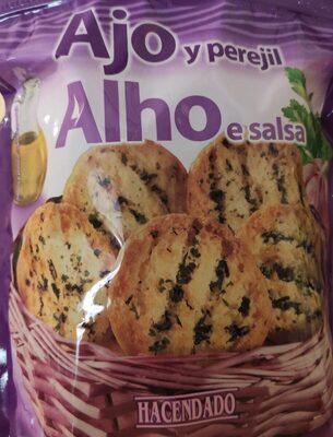 Pan tostado ajo y perejil - Product