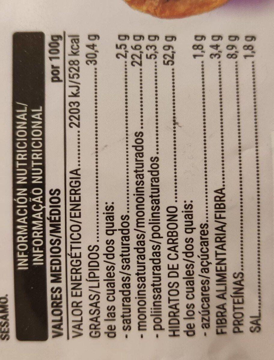 Pan tostado ajo y perejil - Nutrition facts - es