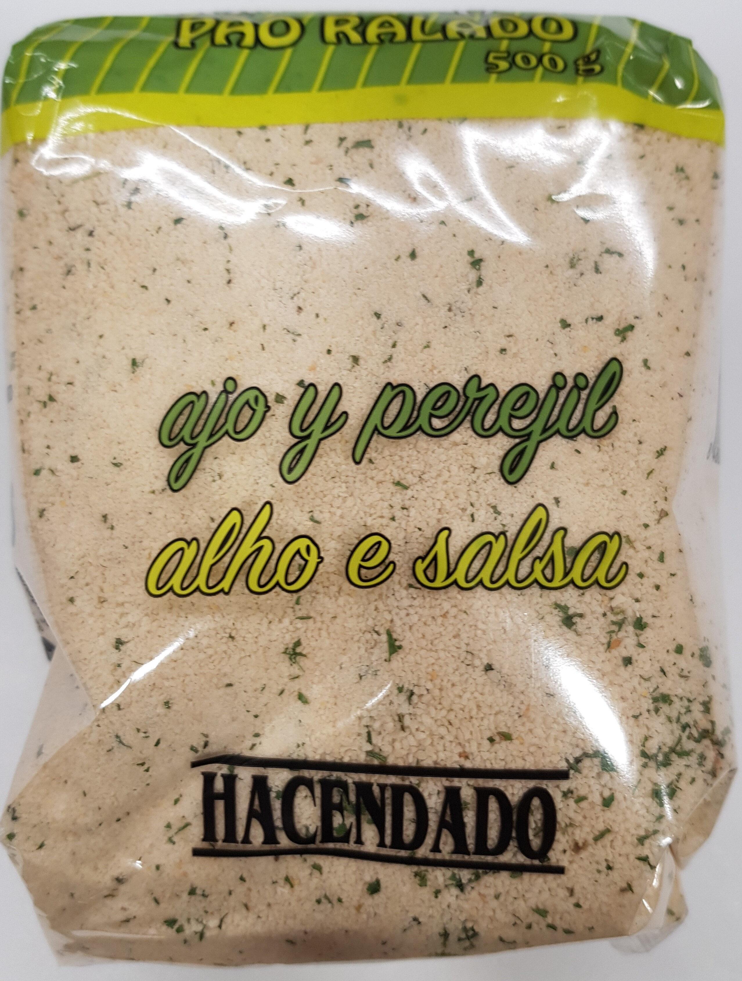 Pan rallado con ajo y perejil - Producto - es