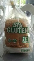 Pan sin gluten - Producte
