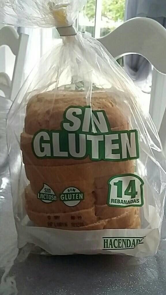 Pan sin gluten - Producto