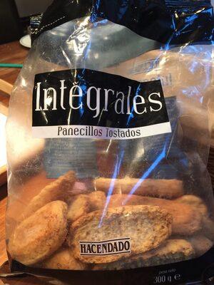 Panecillos tostados integrales - Product - es