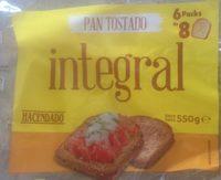 Pan tostado integral - Producto