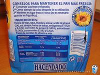 Pan de Molde Rebanada Gruesa - Product