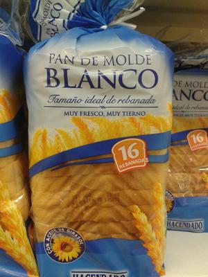 Pan de molde blanco - Producto