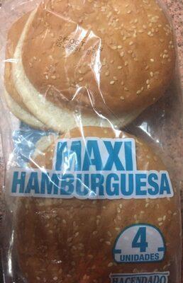 Pan Maxi hamburguesa - Prodotto - es