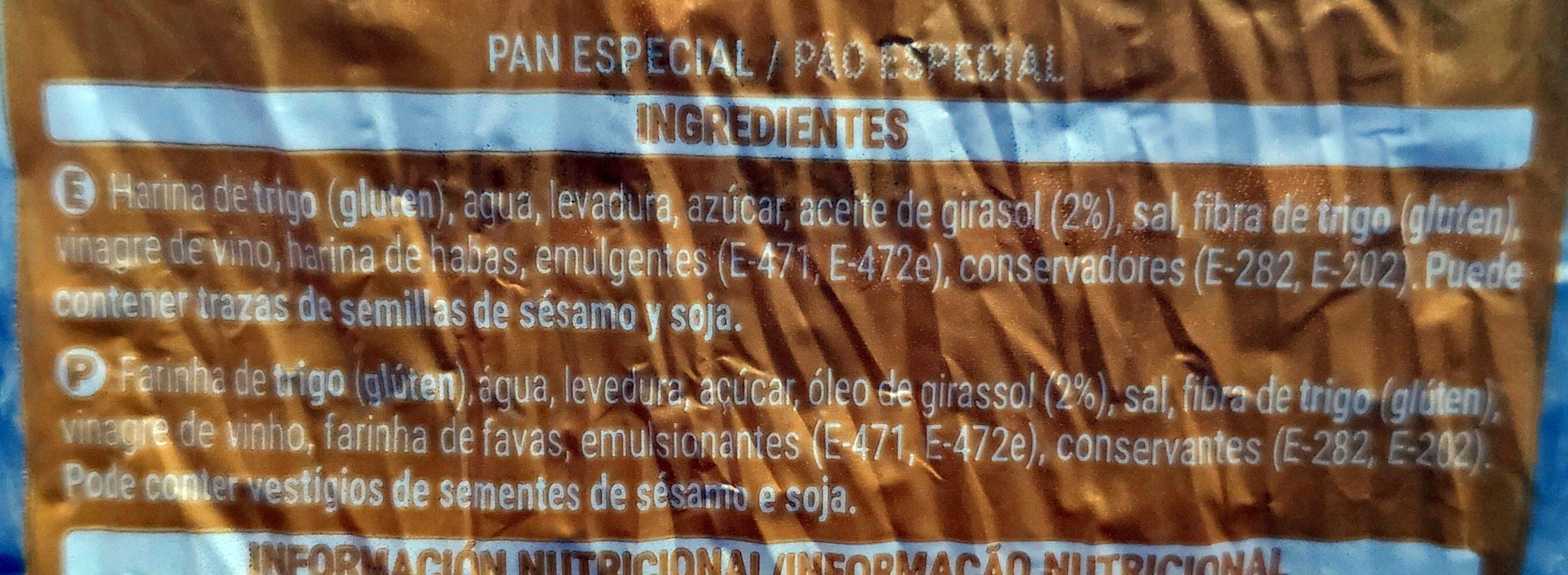 Burger - Ingredientes - es