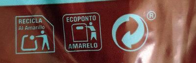 Hot dog - Istruzioni per il riciclaggio e/o informazioni sull'imballaggio - es