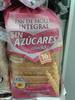 Pan de molde integral sin azúcares añadidos - Producto