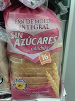 Pan de molde integral sin azúcares añadidos - Producto - es