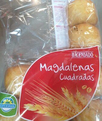 Magdalenas cuadradas - Produit - es