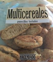 Panecillos tostados multicereales - Product - es