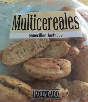 Panecillos tostados multicereales - Produit - fr