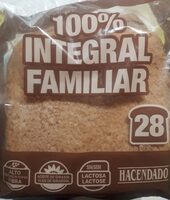 100% integral familiar - Prodotto - es