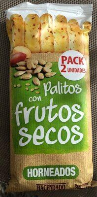 Palitos con frutos secos horneados - Product
