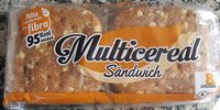 Multicereales sandwich - Producto
