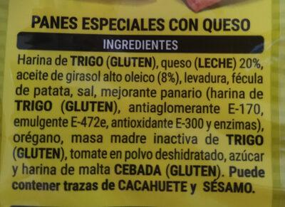 Anitines - Ingredientes