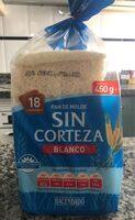 Pan de Molde Blanco Sin Corteza - Product