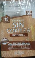 Pan de molde sin corteza integral - Producto - es