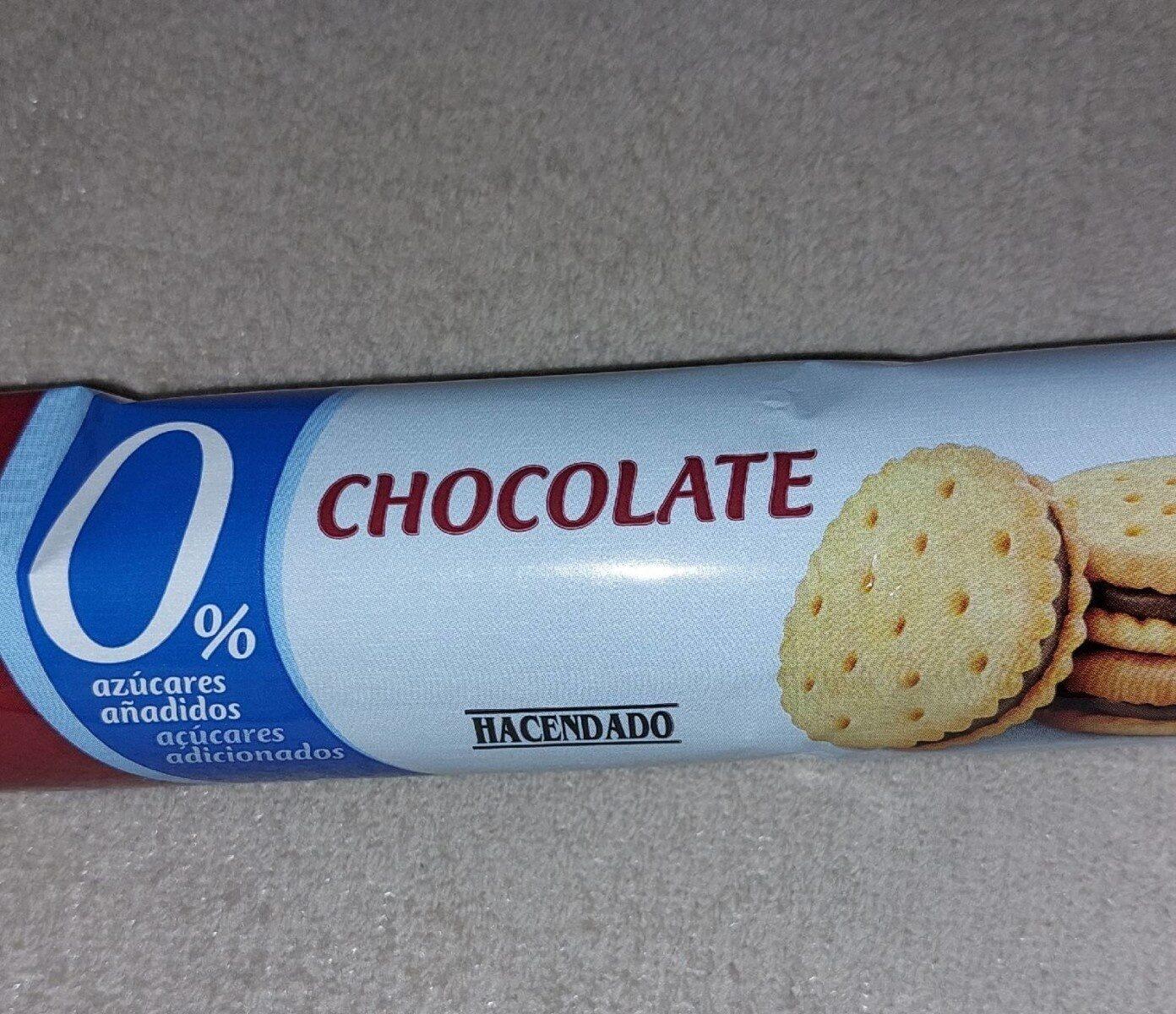 Galleta rellena de crema de chocolate - Product - es