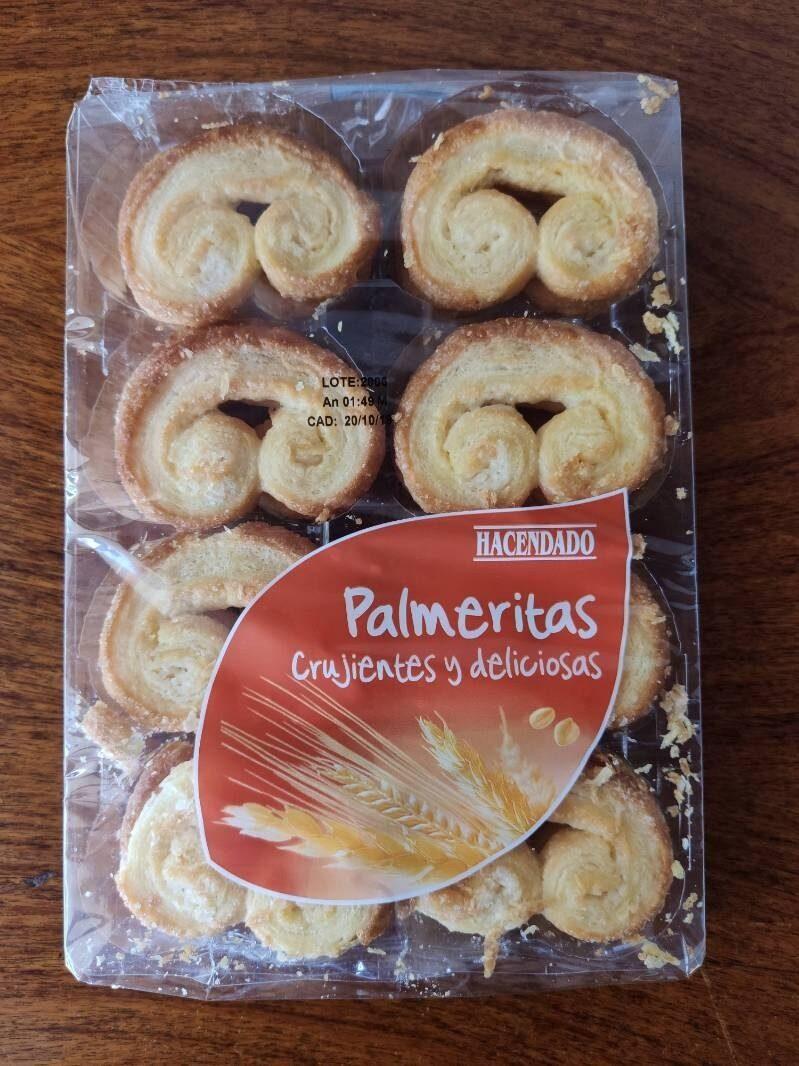 Palmeritas Hacendado - Producto