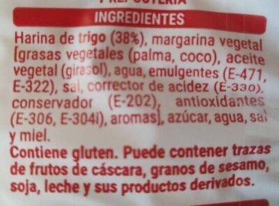 Palmeritas Hacendado - Ingredientes