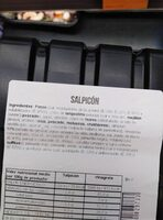 Salpicon - Ingrédients - es