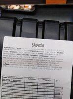 Salpicon - Informations nutritionnelles - es
