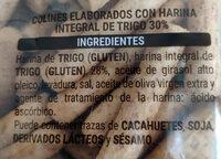 Picos 30 % integrales - Ingrédients - es