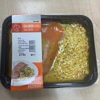 Salmon al curry con arroz - Producto - es