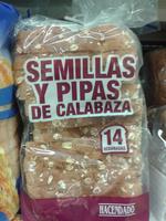 Pan de molde semillas y pipas de calabaza - Producte - es