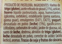 Magdalena - Ingredientes