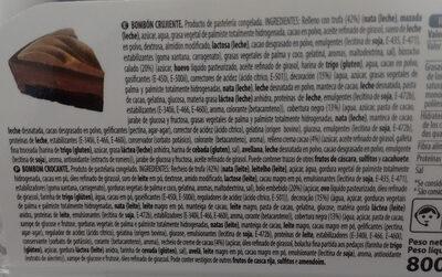 Pastel bombón crujiente - Produit - es