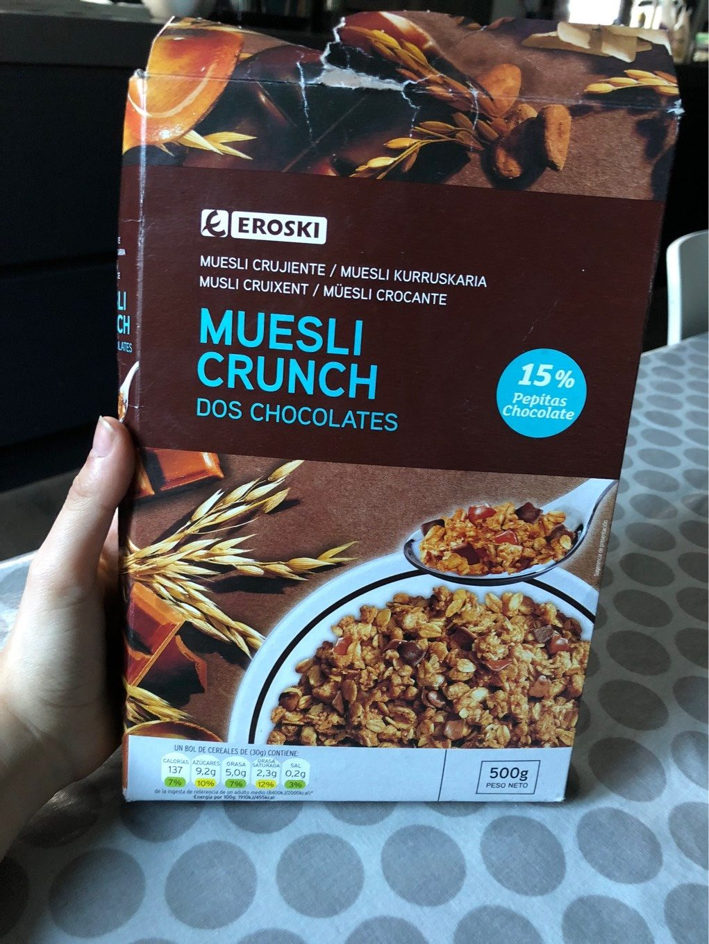 Muesli crunch dos chocolates - Product