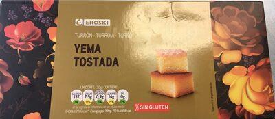 Yema tostada - Produit