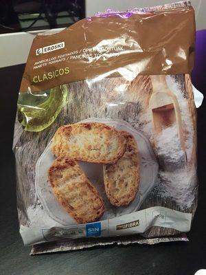 Panecillos tostados - Producte