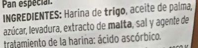Panecillos tostados - Ingredients
