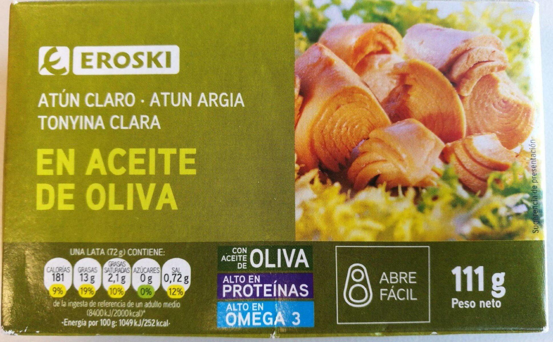 Atun claro en aceite de oliva - Product - es