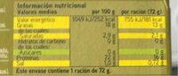 Atun claro en aceite de oliva - Voedingswaarden - es