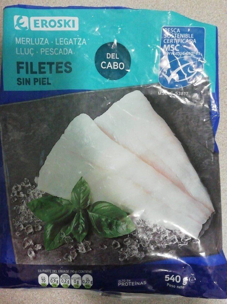 Merluza Filetes sin piel - Producto - es