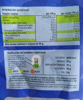 Merluza Filetes sin piel - Información nutricional - es