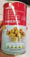 Aceitunas rellenas de pimiento - Product