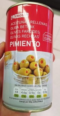 Olives farcies - Producto