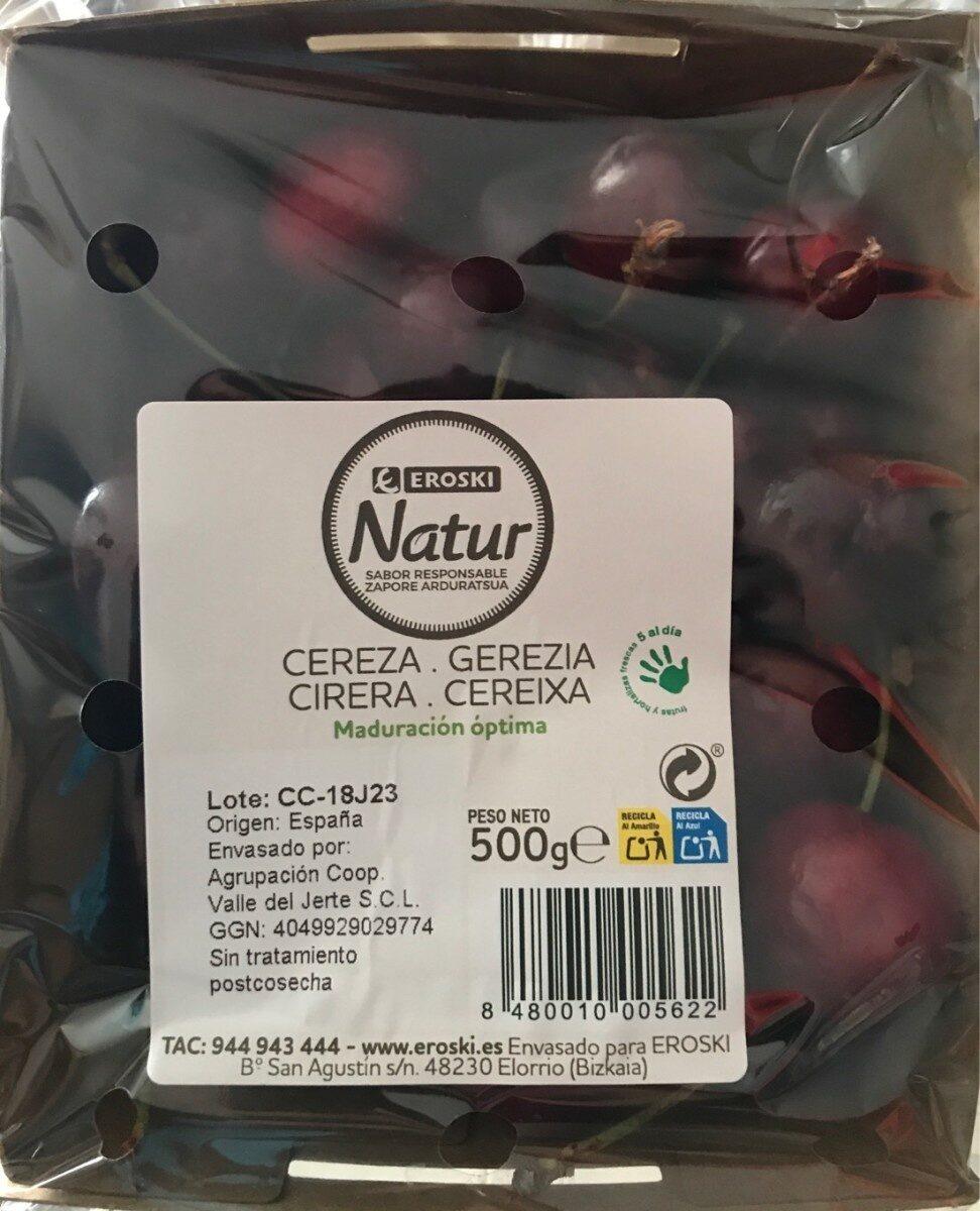 Cereza - Voedingswaarden - es